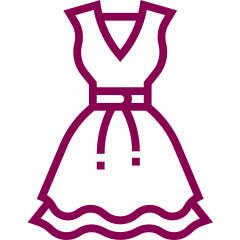 Tabulka velikosti šaty