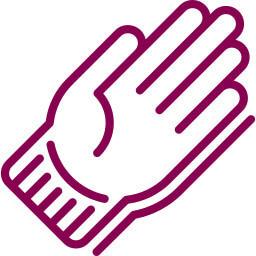 Tabulka velikosti rukavice