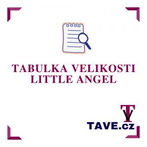 Tabulka velikosti Little Angel